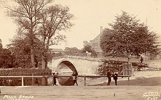 William Hayes (photographer) - Image: William Hayes York City Archives children playing near Monk Bridge 1900´s