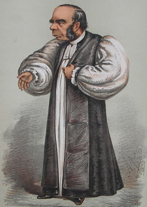 "William Connor Magee - William Connor Magee as Bishop of Peterborough, by Carlo Pellegrini, 1869. The caption read, ""If eloquence could justify injustice he would have saved the Irish Church."""