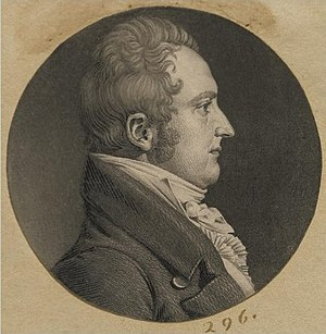 William P. Van Ness - William Peter Van Ness, 1807 engraving by Charles Saint-Mémin