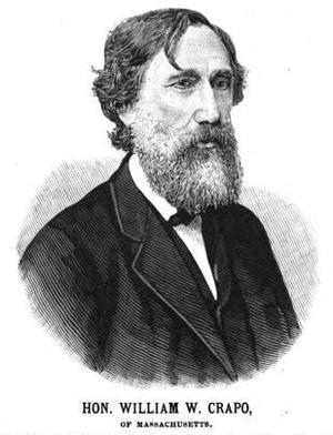 William W. Crapo - Image: William Wallace Crapo