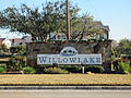 Willowlake, Houston, entrance sign.JPG