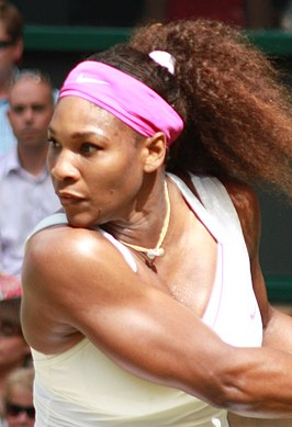Winnares in het enkelspel: Serena Williams