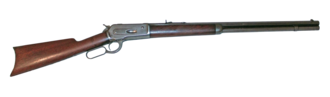 Winchester Model 1886 - A Winchester Model 1886 rifle.