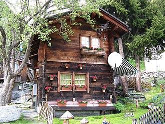 Täsch - A house in Täsch