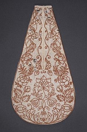 Pocket - 18th-century woman's hanging pocket