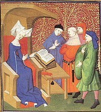 Women activities in middle ages (cropped).JPG