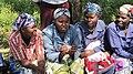 Women in Meru, Kenya, examining Menstrual Cups (5926104507).jpg