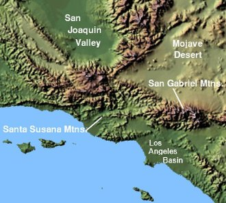 Santa Susana Mountains - Image: Wpdms shdrlfi 020l santa susana mountains