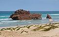 Wreck of Cabo de Santa Maria, 2010 December.jpg
