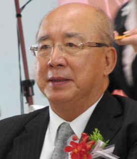 Wu Po-hsiung Taiwanese politician