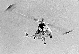 American Helicopter XH-26 Jet Jeep - Image: XH 26 Jet Jeep in flight