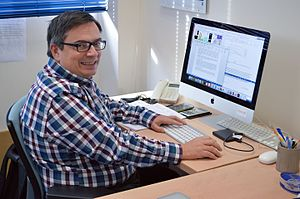 Xavier Barcons - Prof. Xavier Barcons at ESO Headquarters