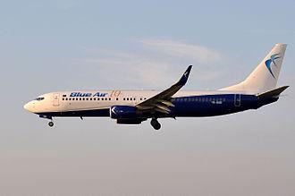 Blue Air - Blue Air Boeing 737-800