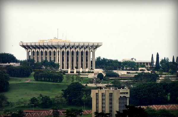 Unity Palace - Cameroon Presidency. YaoundeUnityPalace.png