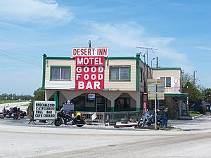 National Register of Historic Places listings in Osceola County, Florida - Image: Yeehaw Junction Desert Inn 04