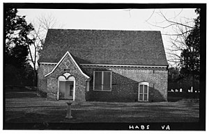 National Register of Historic Places listings in Virginia - Yeocomico Church, Tucker Hill