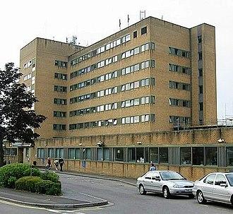 Yeovil - Yeovil hospital.