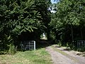 Yes you can go to Bourn on this bridleway - geograph.org.uk - 872359.jpg