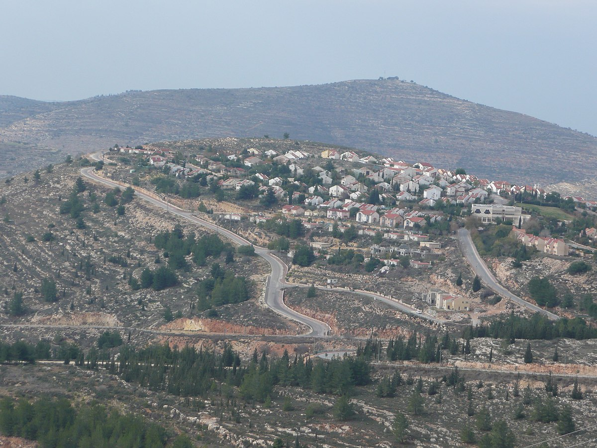 Image result for eli west bank settlement
