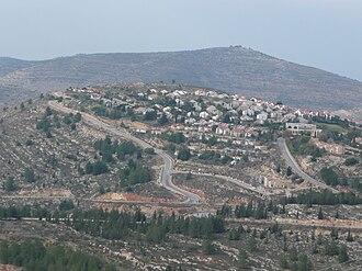 Eli, Mateh Binyamin - Image: Yishuv Eli Shomron