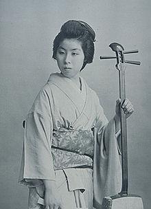 Una geisha.
