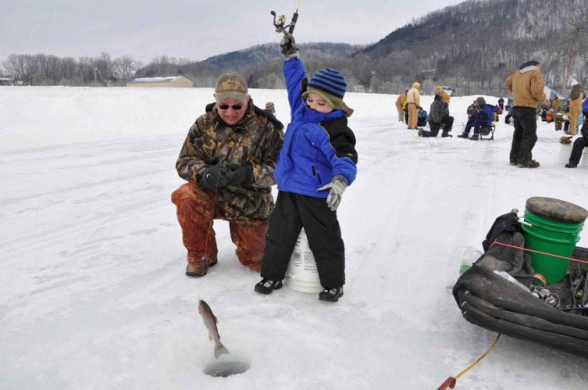 зимняя рыбалка где