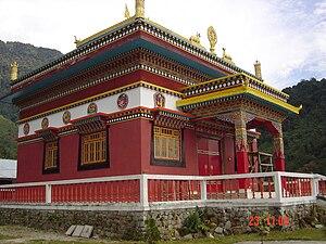 Dubdi Monastery - Image: Yuksom Dubdi Gompa
