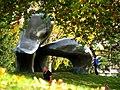 Zürich - Hafen Riesebach - Henry Moores Sheep Peace IMG 1041.JPG