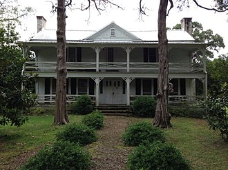 National Register of Historic Places listings in Amite County, Mississippi - Image: Zachariah Lea House