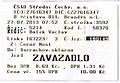 Zavazadlový lístek, ČSAD Střední Čechy.jpg