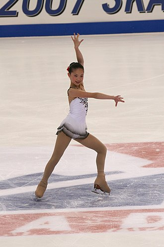 Caroline Zhang - Zhang at the 2007 Skate America.
