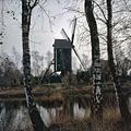 Zijaanzicht, molen heeft van 1921 tot 1981 in Buurser Zand, onder Haaksbergen, gestaan - Usselo - 20361113 - RCE.jpg