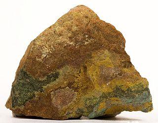 Zippeite uranyl sulfate mineral