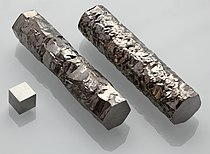 Image: Zirconium crystal bar