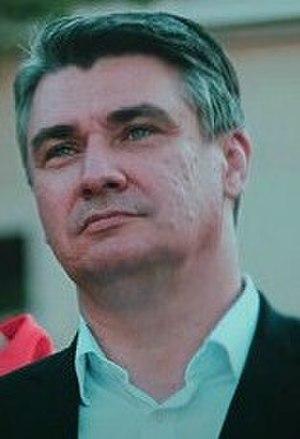 Zoran Milanović - Image: Zoran Milanović (cropped)