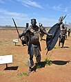 Zulu King Dingane kaSenzangakhona, Maropeng, South Africa.jpg