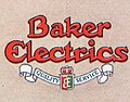 """""""Baker Electrics"""" """"QUALITY SERVICE"""" LOGO ART DETAIL, FROM- Baker Electric Coupe 1912-15 (cropped).jpg"""