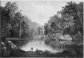 """Blue Hole, Little Miami River"" - NARA - 559059.tif"