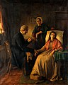"""Fading away"". Oil painting attributed to E. Kennedy. Wellcome V0017586.jpg"