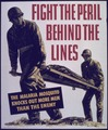 """Fight the Peril Behind the Lines"" - NARA - 514251.tif"