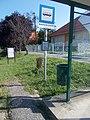 'Balatonkeresztúr, iskola' bus stop, 2020 Balatonkeresztúr.jpg