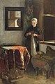 'Het zonnige hoekje'; jonge vrouw in een kamer te Hindelopen Rijksmuseum SK-A-3632.jpeg