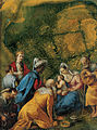 'The Adoration of the Magi', oil on jasper painting by Jacopo Bassano (Jacopo dal Ponte).jpg