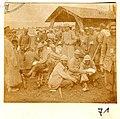 (Cuperly. Soldats blessés devant l'hôpital) - Fonds Berthelé - 49Fi1879-71.jpg