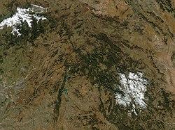 (Provincia de Guadalajara) Castilla-La Mancha NASA (cropped).jpg