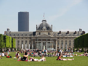 École Militaire and Montparnasse, Paris May 2012.jpg