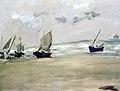 Édouard Manet - Plage de Berck-sur-merà marée basse.jpg
