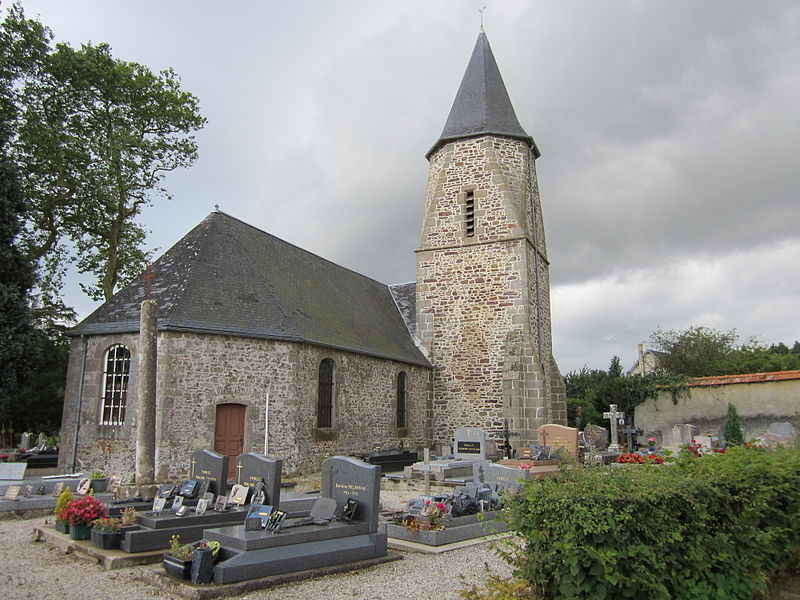 Église Saint-Pierre de fr:Chanteloup (Manche)