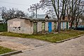 Čaliuskincaŭ street (Minsk), November 2019 p6 — Individual firewood and stuff sheds.jpg