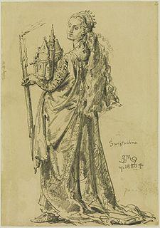 Świętosława of Poland Queen of Bohemia